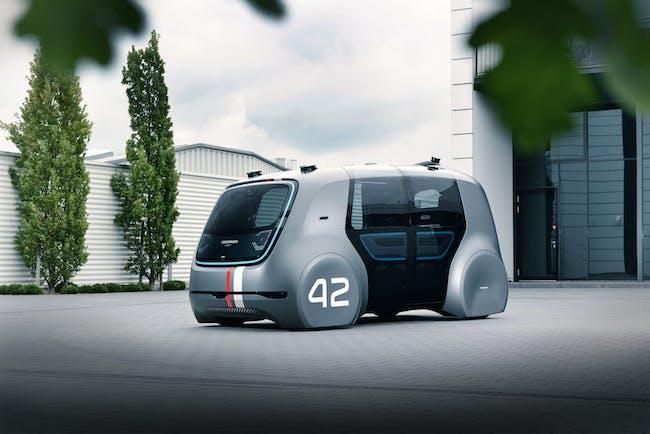 A Volkswagen Sedric pod.