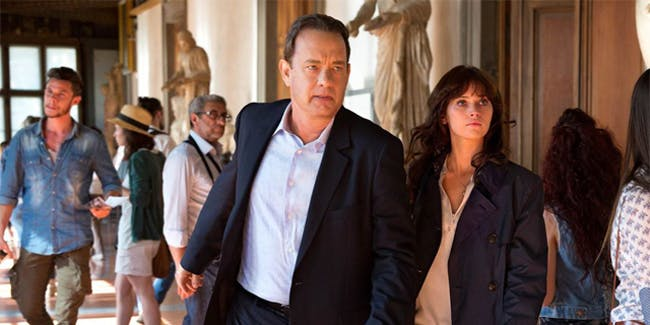 Tom Hanks and Felicity Jones in the third movie in Ron Howard's Robert Langdon series, 'Inferno'