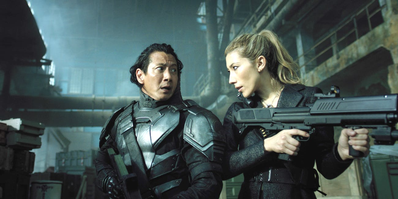 'Altered Carbon' offers some of the most visually-impressive sci-fi action since 'The Matrix'.