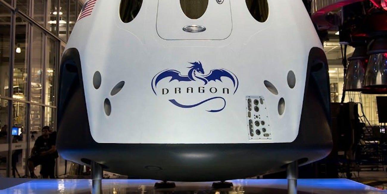The Dragon V2 or Crew Dragon.