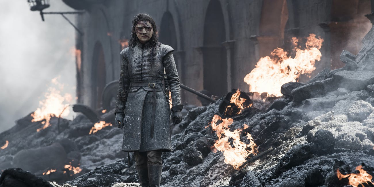 Arya in 'Game of Thrones' Season 8, Episode 5