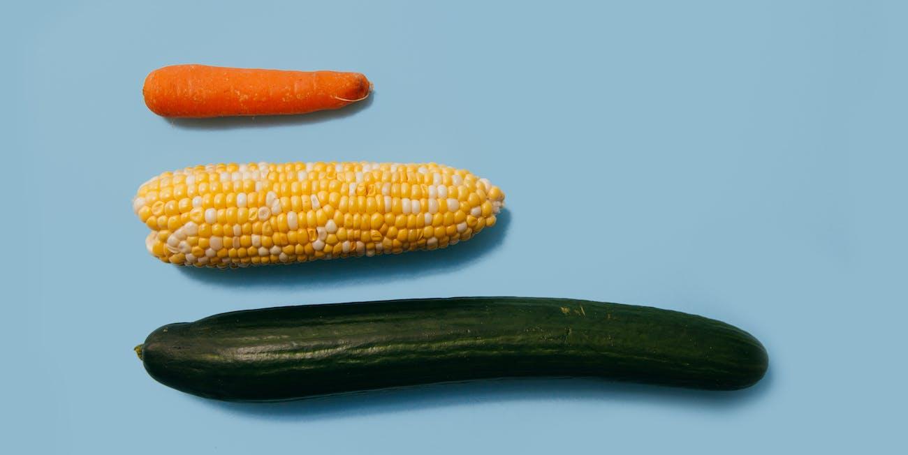vegetables, penis