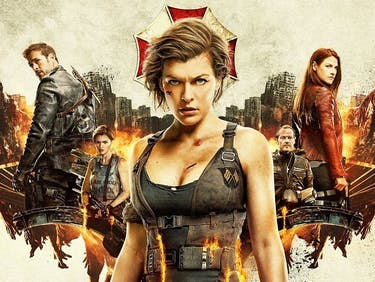 Resident Evil: The Final Chapter poster from ScreenGems