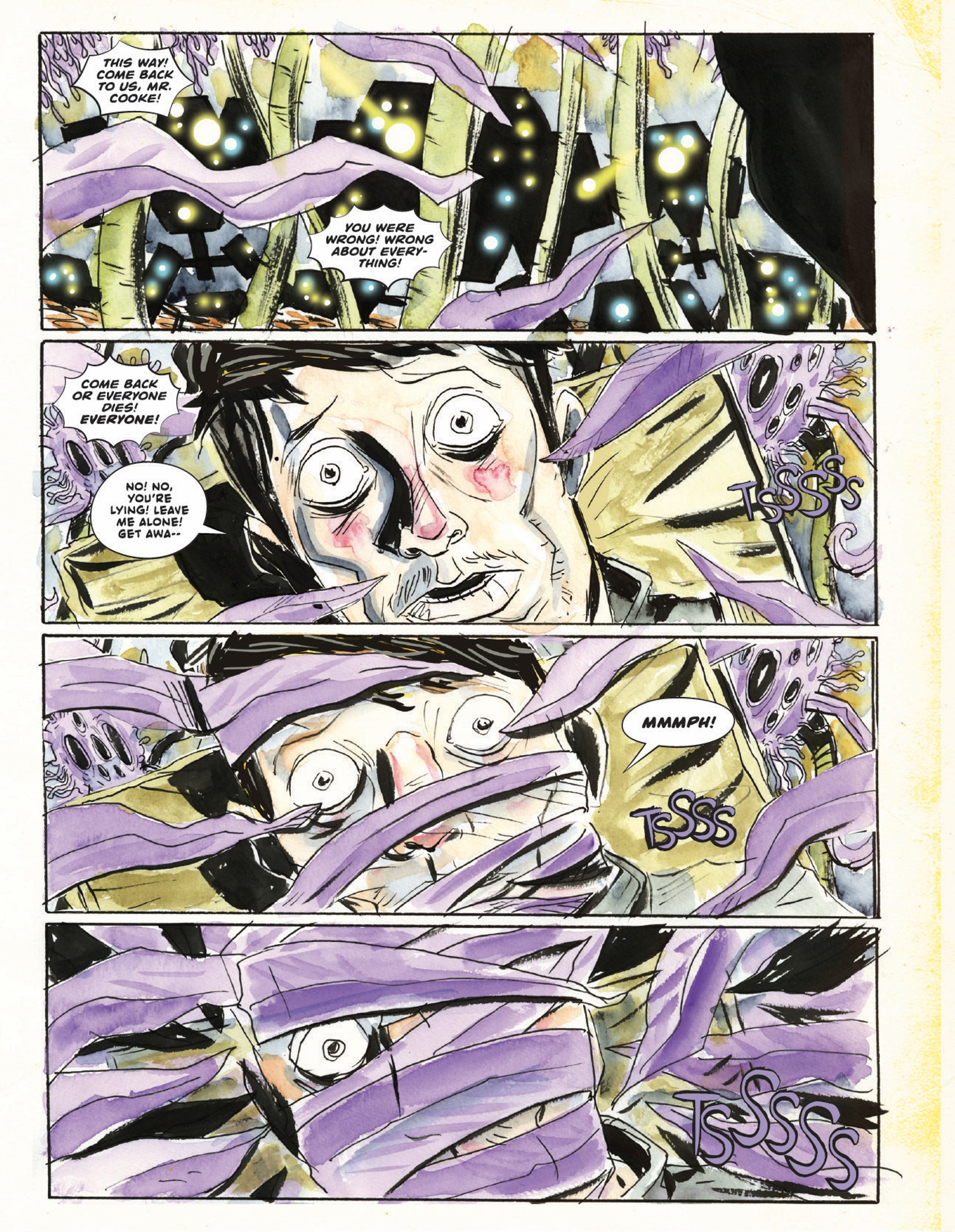 Scene from A.D. After Death from Image Comics, Scott Snyder, Jeff Lemire