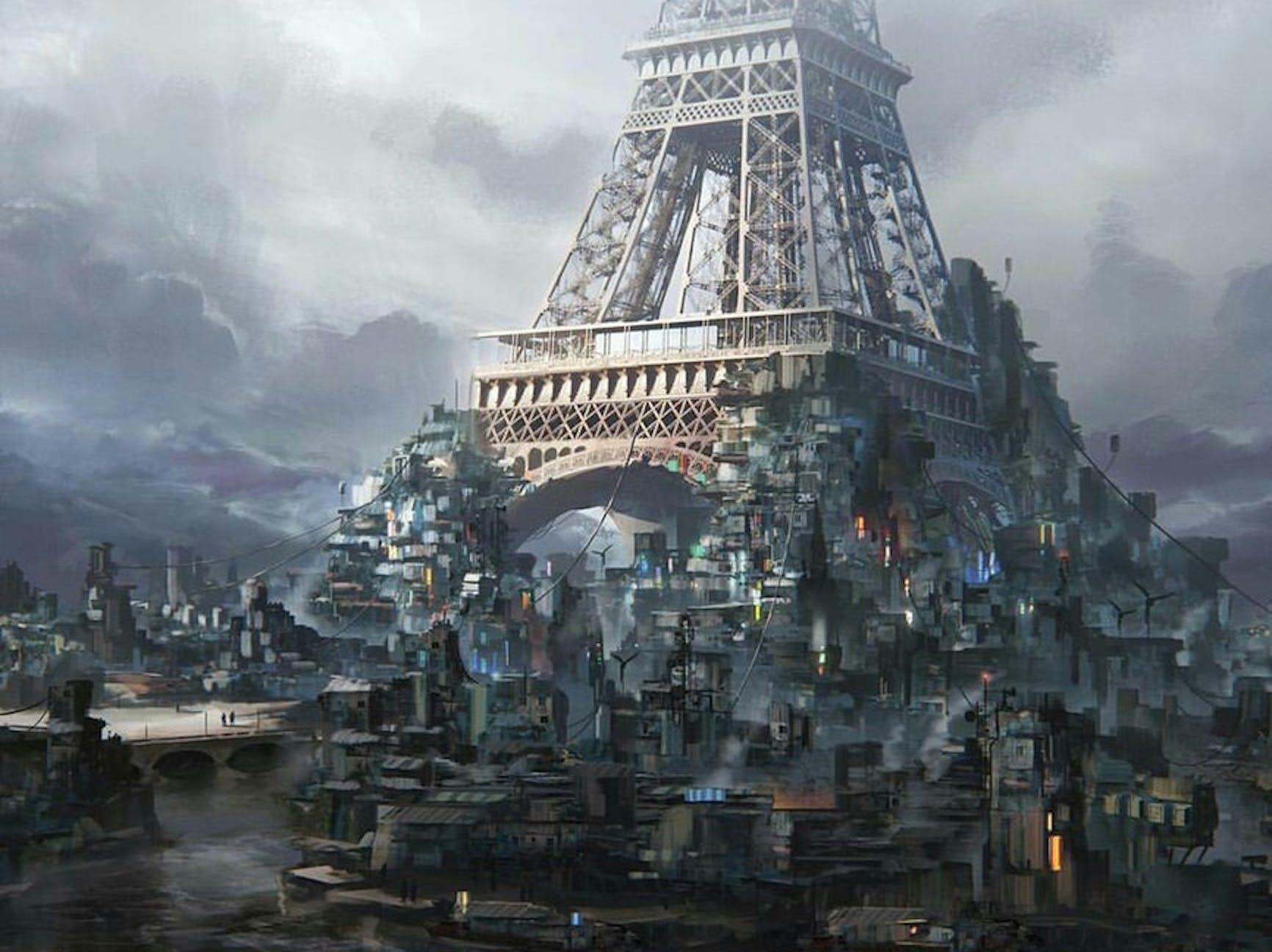 cyberpunk, paris