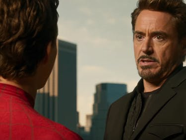 Tony Stark Is the New Uncle Ben in 'Spider-Man: Homecoming' Trailer