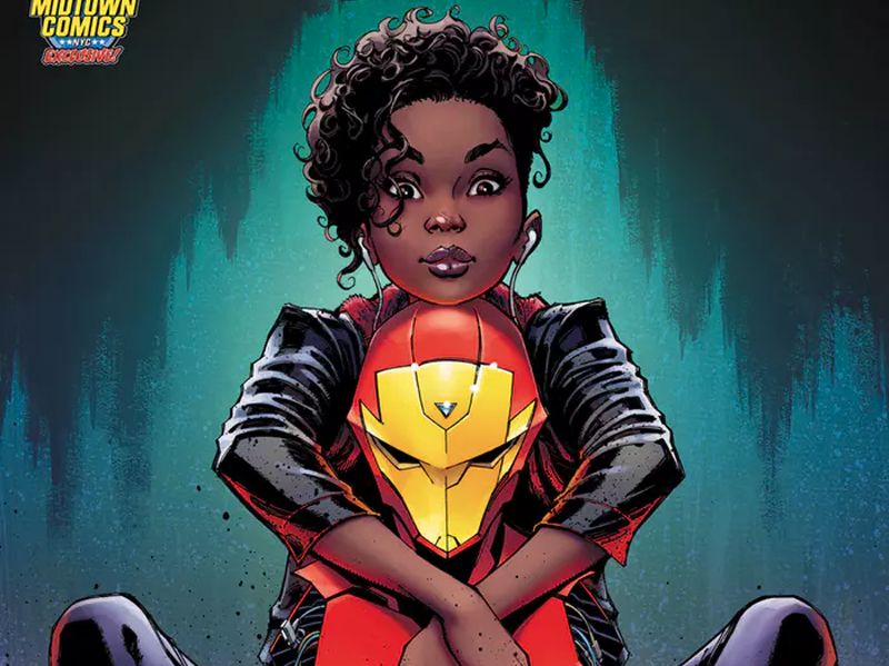 J. Scott Campbell Earns Second Chance on Riri Iron Man Cover
