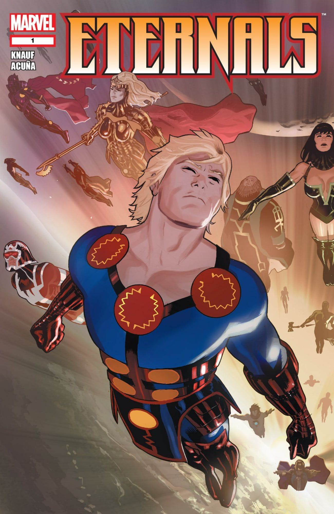 Eternals Marvel Comics