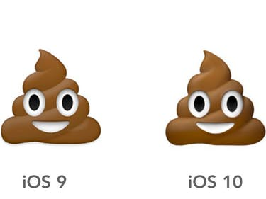 The Poo Emoji Looks Different, and Other Important iOS 10 Changes