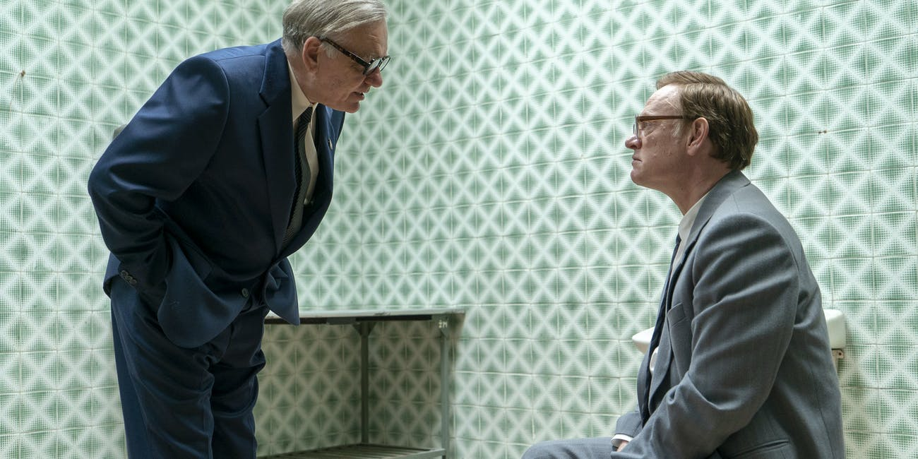 Alan Williams and Jared Harris in the finale of 'Chernobyl'
