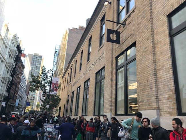 New York's Soho store.