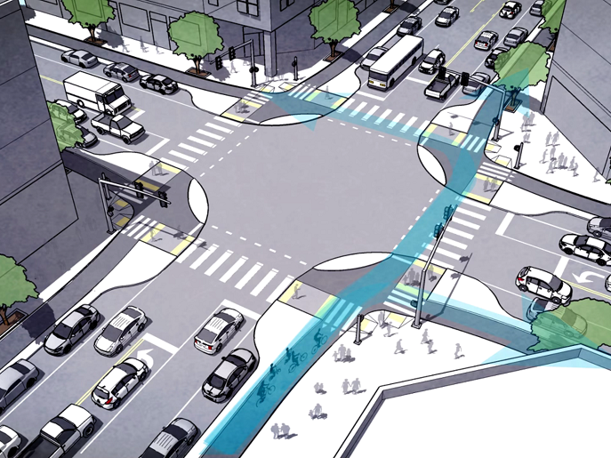San Francisco is building a better, smarter intersection