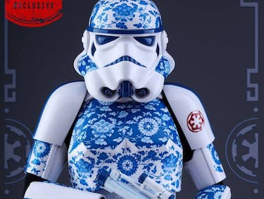 Porcelain Stormtrooper Accurately Depicts 'Star Wars' Combat