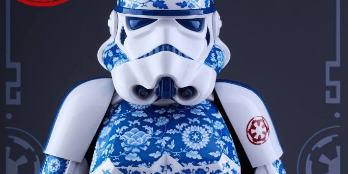 Porcelain Stormtrooper Accurately Depicts 'Star Wars' Combat.