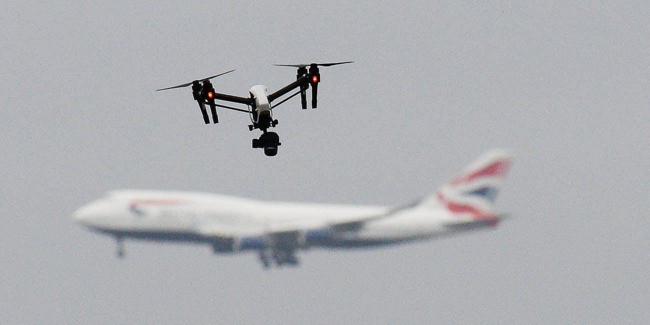 Gatwick airport drone London