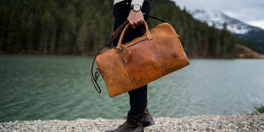 Get 20% Off This Top Shelf Leather Weekender
