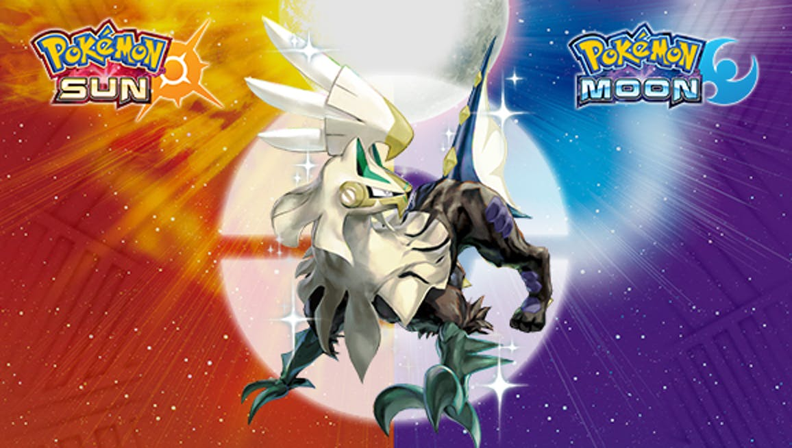 Get yourself a Shiny Silvally between now and November 13, 2017 while supplies last.