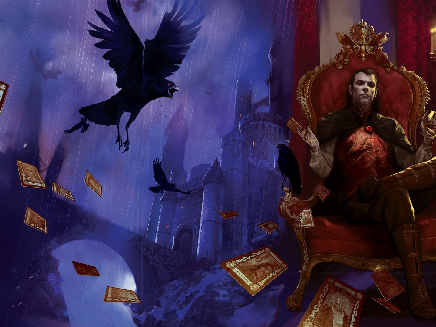 Wizards of the Coast released Curse of Strahd, a new Ravenloft adventure, earlier this year.