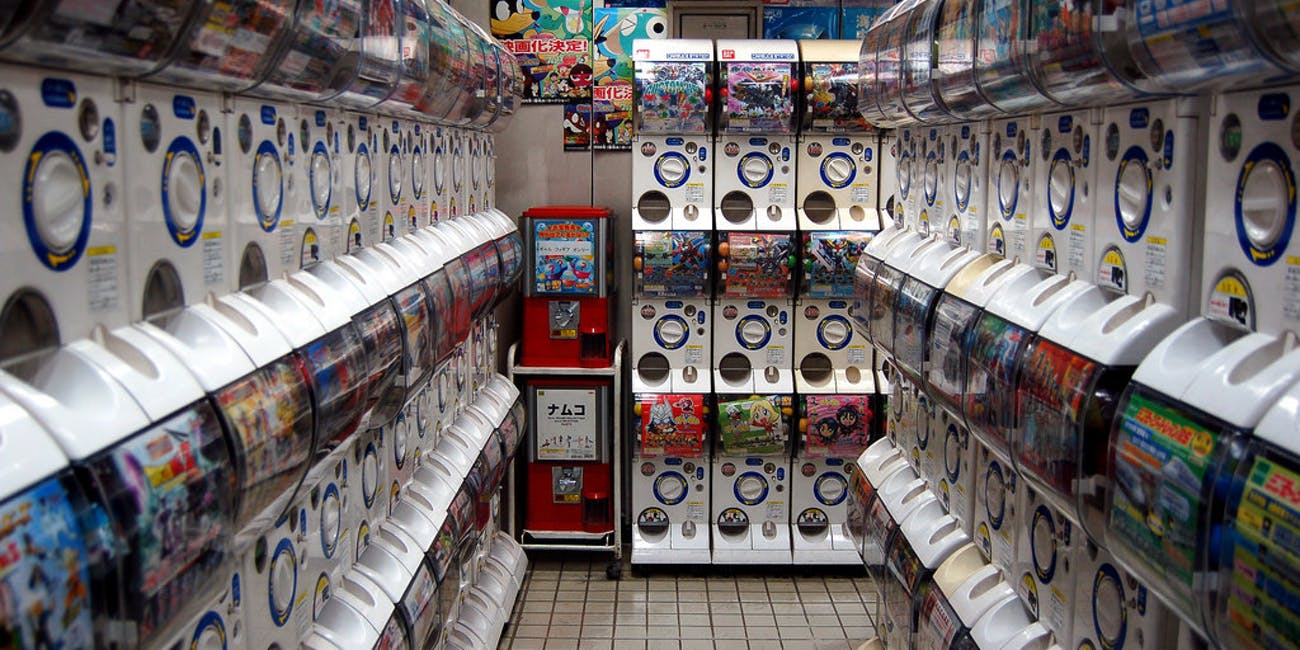 Gashapon Machines