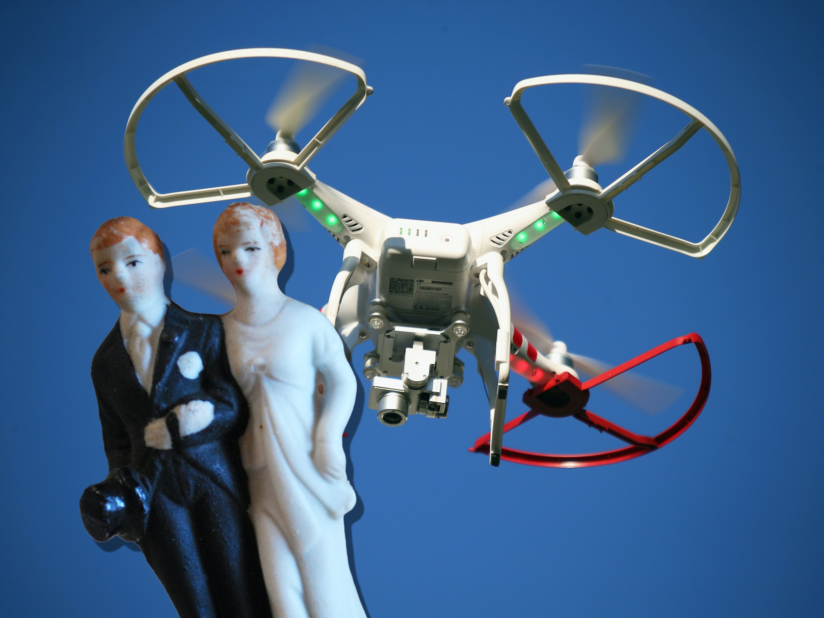 Women Sue Groom After Getting Smacked by Drone at His Wedding