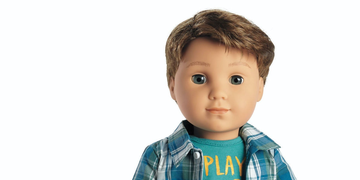 The First Male American Girl Doll Is Historic... and Kinda Hot