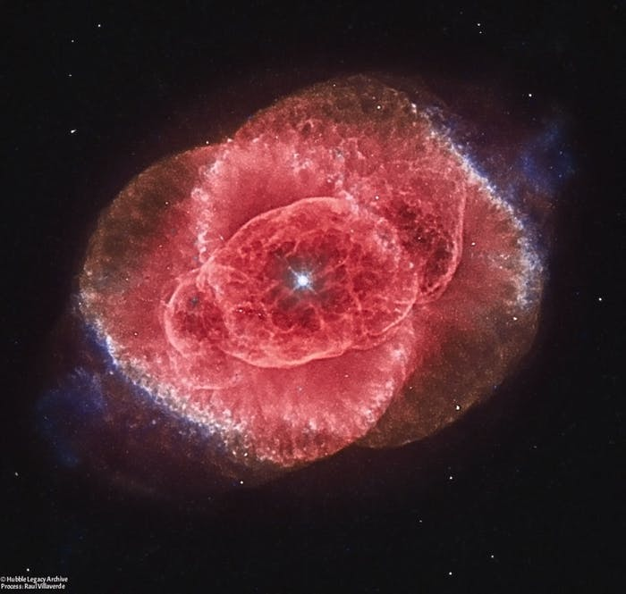 The Cat's Eye Nebula is a wonder to scientists.