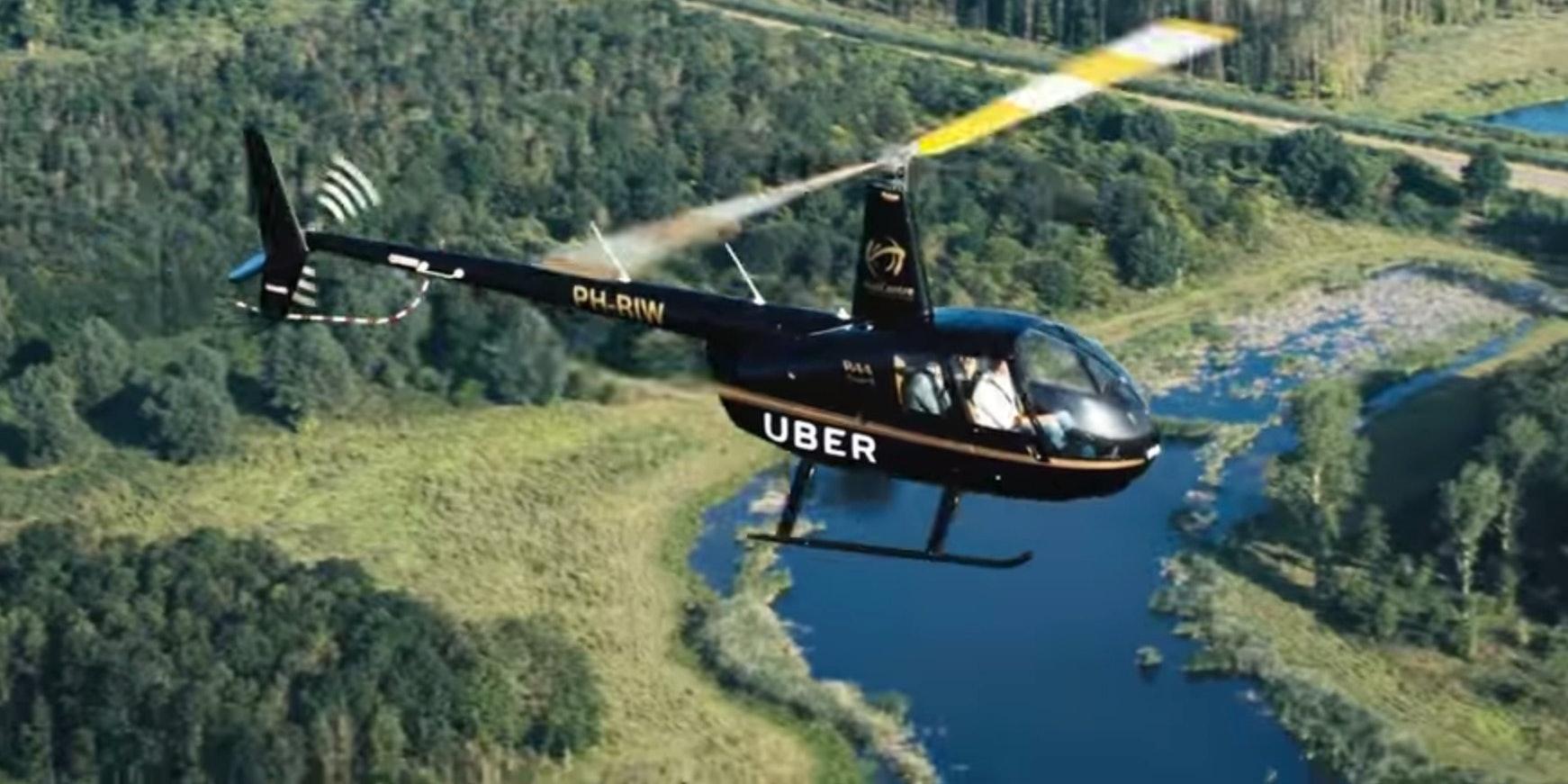 Screenshot from the UberCHOPPER movie