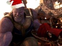 'Avengers: Infinity War' Thanos Santa Hat