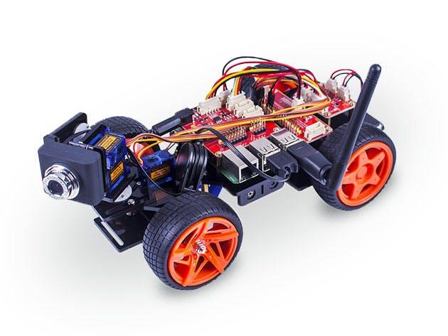 The PiCar-V, powered with Raspberry Pi.
