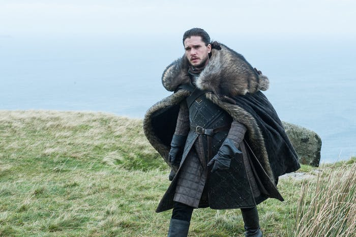 Kit Harington as Jon Snow in 'Game of Thrones' Season 7 episode 5