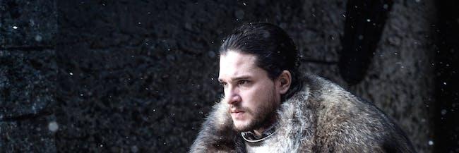 Kit Haringon as Jon Snow, King in the North in 'Game of Thrones' Season 7