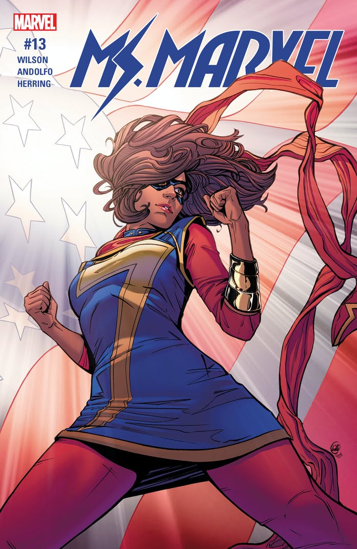 Ms. Marvel #13 G. Willow Wilson Election