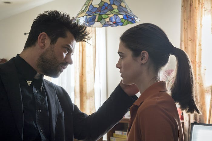 Dominic Cooper plays Jesse (left), whom Emily harbors feelings for but quietly acknowledges the future they don't have.