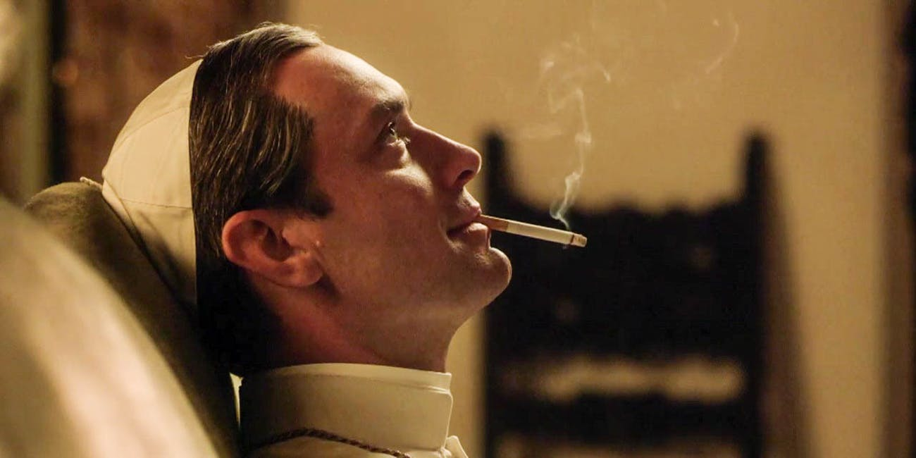 The Young Pope, Jude Law, combines religion, sexiness, and drugs!