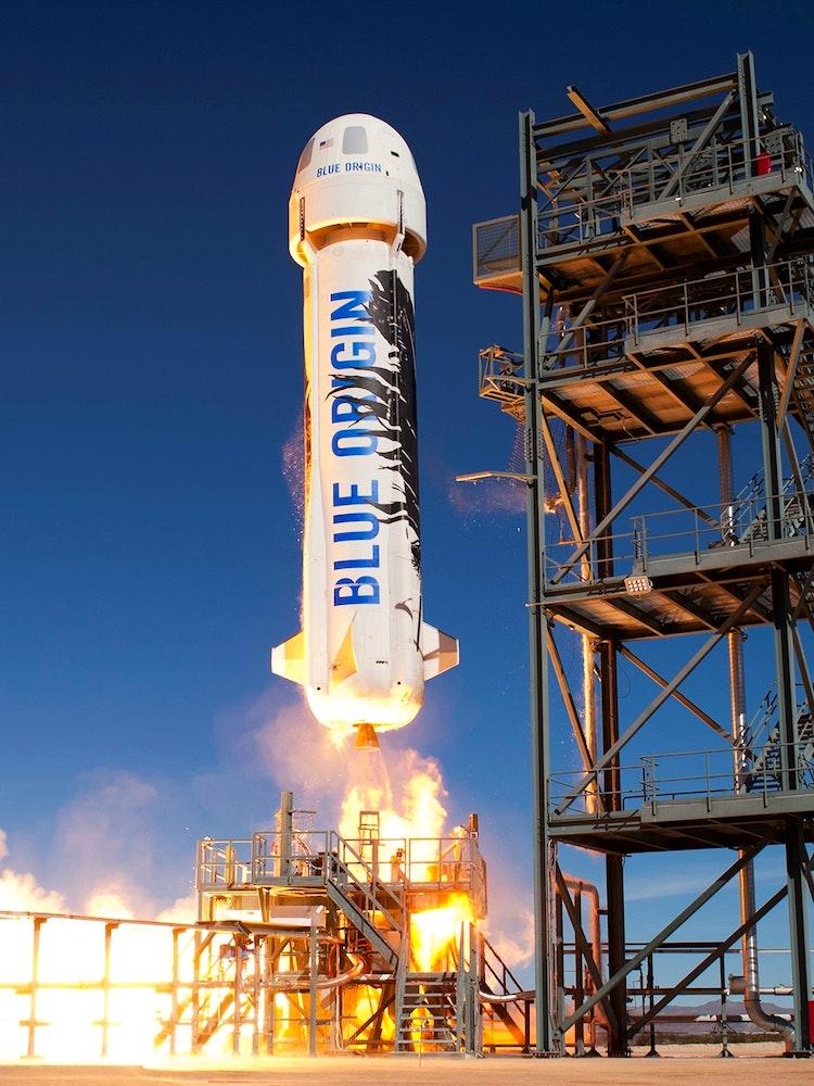 Jeff Bezos Announces Blue Origin Live Webcast Will Start