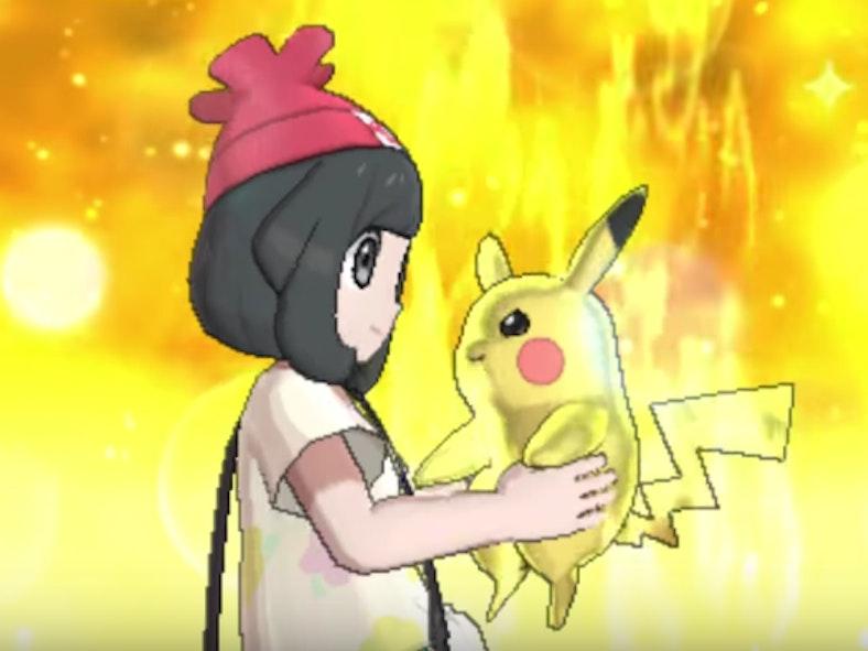 Pikachu's Z-Move