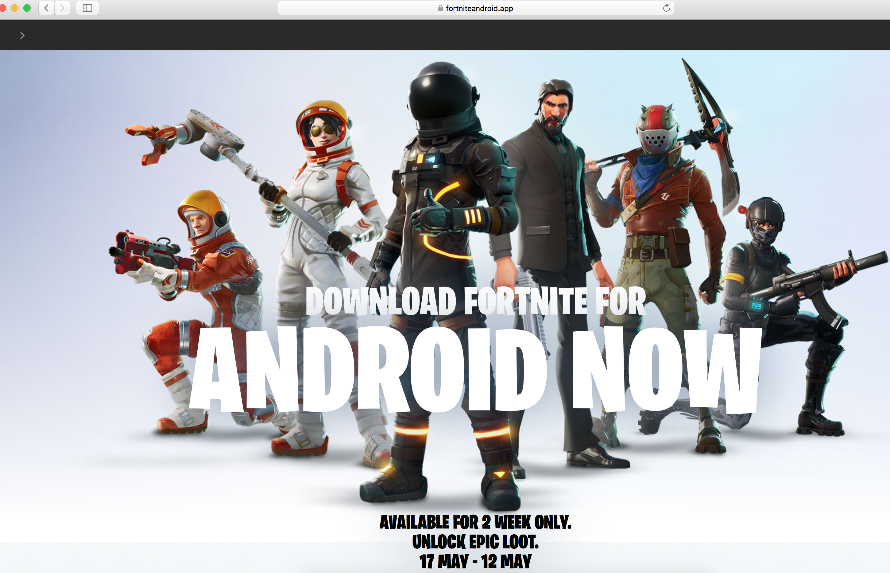 don t bother downloading leaked fortnite apk - fortnite android apk download