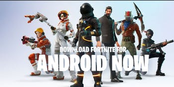 "Fake ""Fortnite' Android Site"