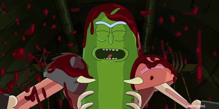 'Rick and Morty' Pickle Rick