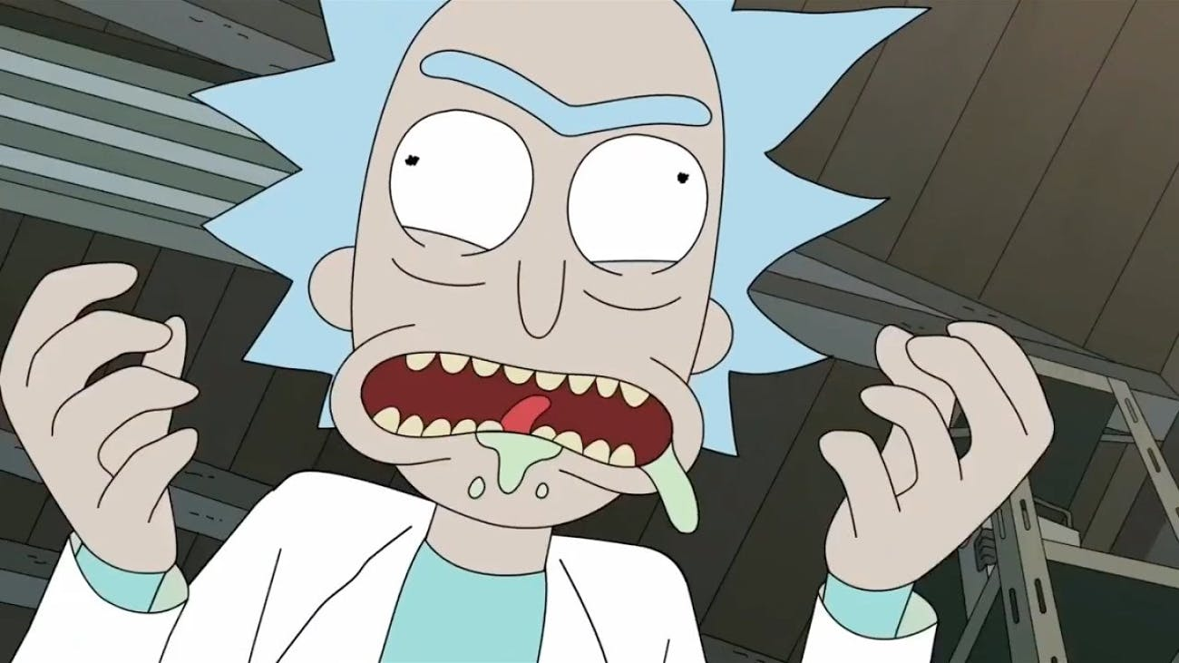 Rick Sanchez was totally obsessed with Szechuan Sauce in the 'Rick and Morty' Season 3 premiere.