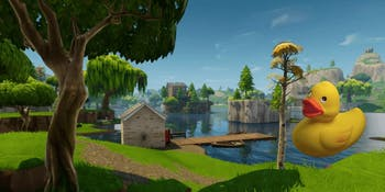 Rubber Duckies have invaded the 'Fortnite: Battle Royale' island.