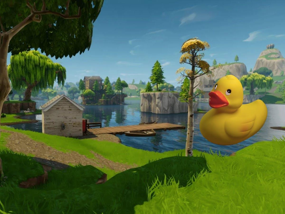 Where Do You Find Rubber Duckies In Fortnite Fortnite