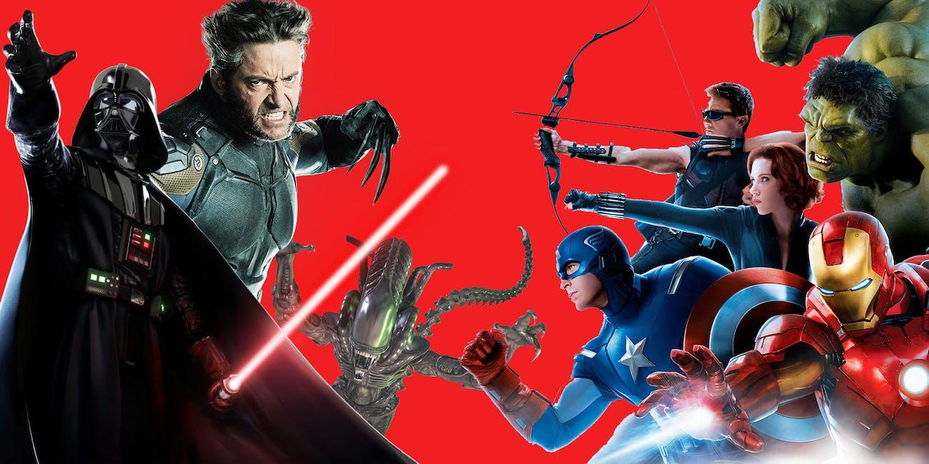 Fox Disney Merger: How Star Wars, X-Men, and Marvel Might