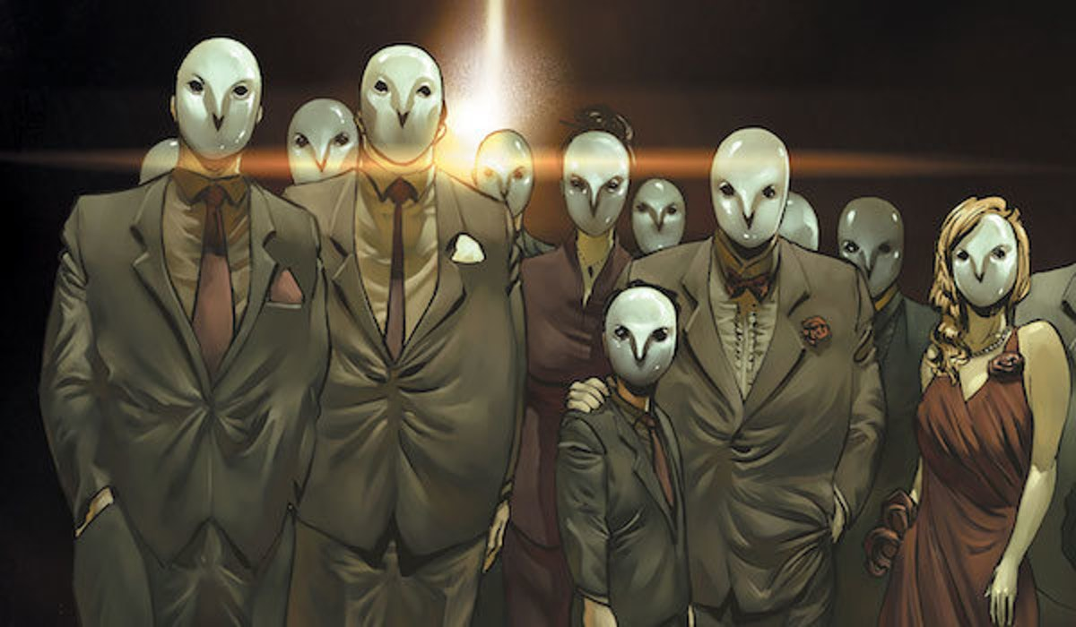 The Court of Owls as they appear in DC's Batman Comics