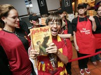 Harry Potter midnight release party.
