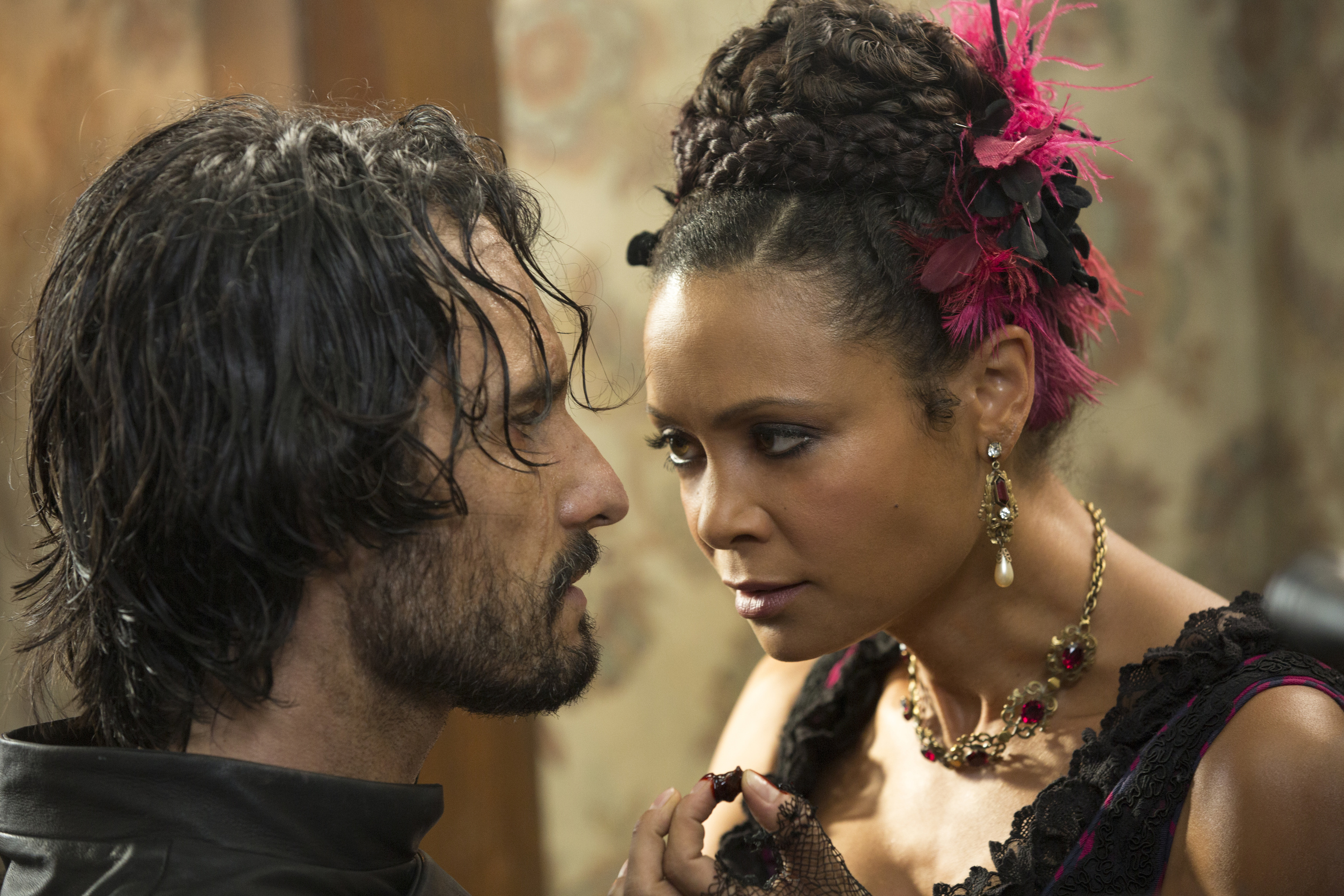 Hector and Maeve in 'Westworld'
