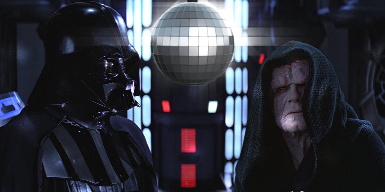 Darth Vader and Emperor Palpatine.