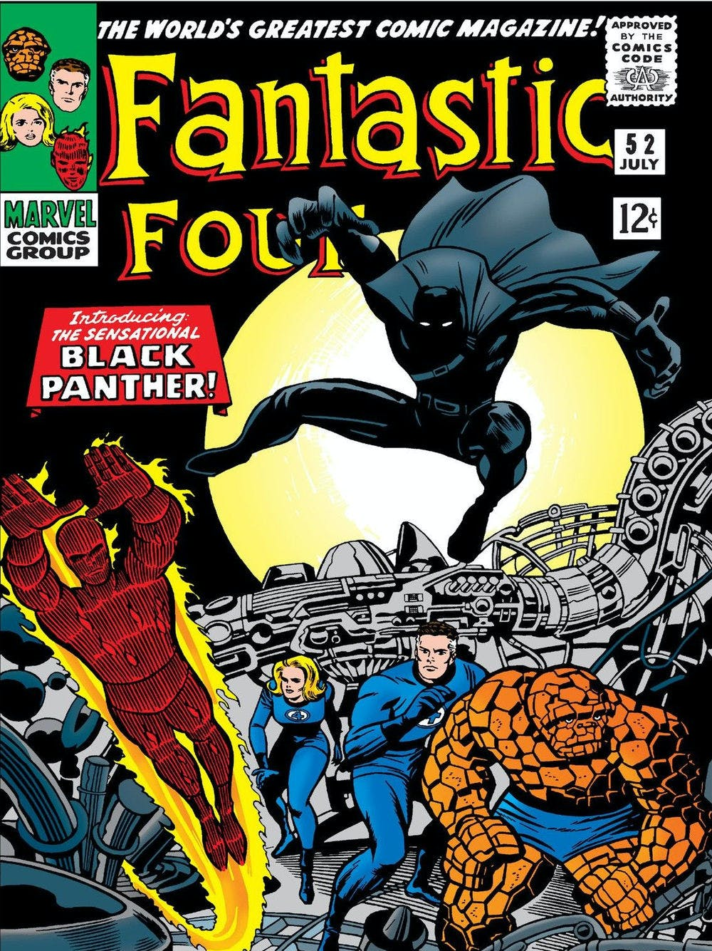 Black Panther Fantastic Four