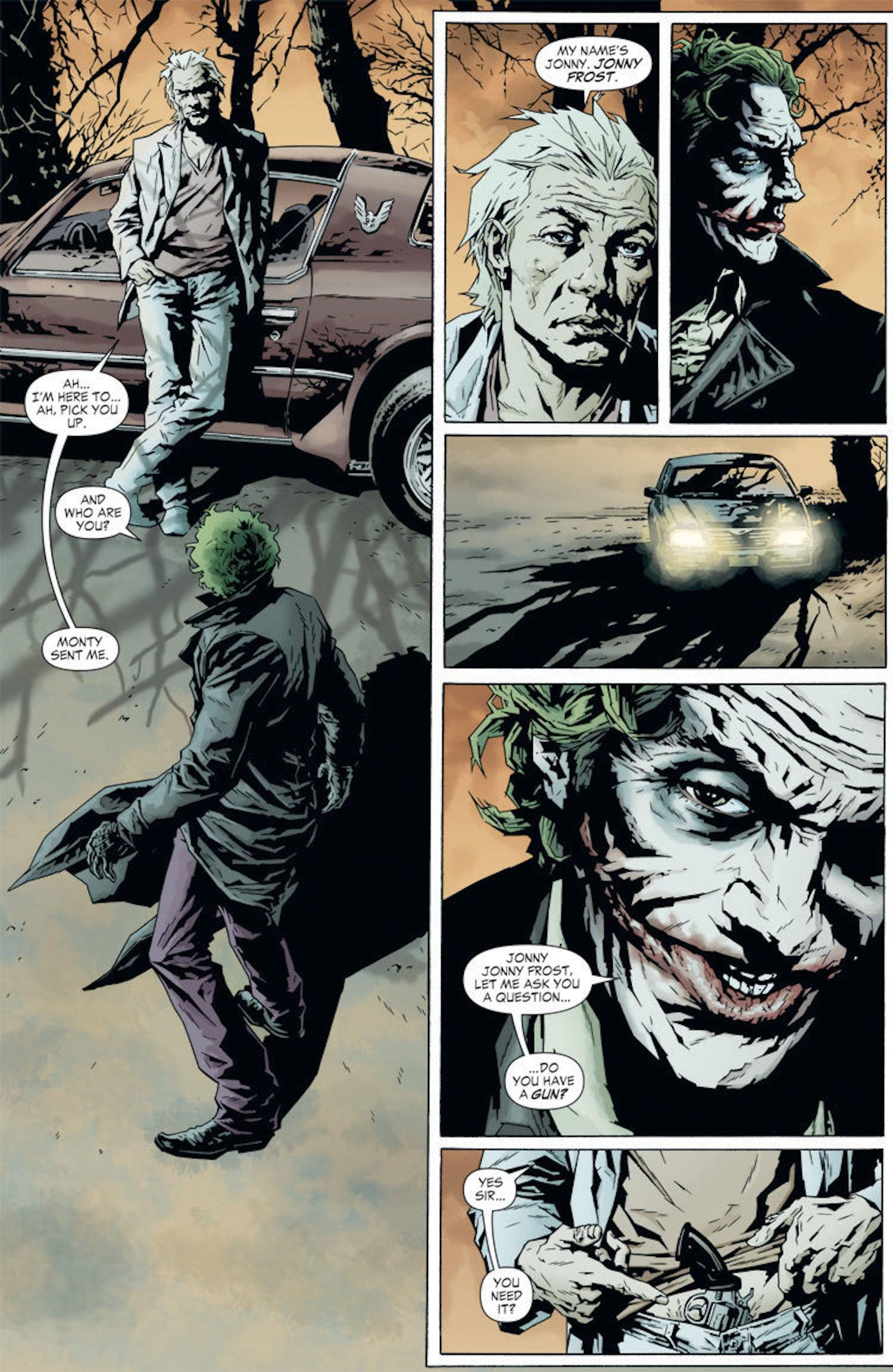 Jonny Frost meets Joker for the first time in 'Joker' (2008)