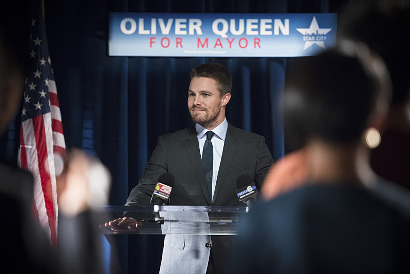 Stephen Amell's Oliver Queen became the mayor of Star City at the end of 'Arrow' Season 4.